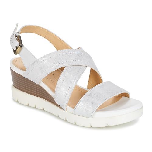 Παπούτσια Γυναίκα Σανδάλια / Πέδιλα Geox MARYKARMEN P.B Άσπρο
