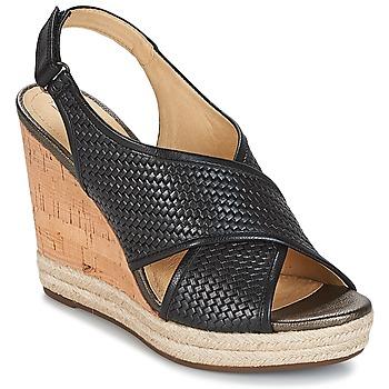 Παπούτσια Γυναίκα Σανδάλια / Πέδιλα Geox JANIRA C Black