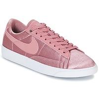 Παπούτσια Γυναίκα Χαμηλά Sneakers Nike BLAZER LOW SE W Ροζ