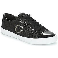 Παπούτσια Γυναίκα Χαμηλά Sneakers Guess ELLY Black