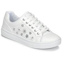 Παπούτσια Γυναίκα Χαμηλά Sneakers Guess JAMIT Άσπρο