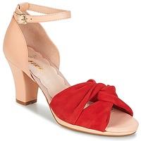 Παπούτσια Γυναίκα Σανδάλια / Πέδιλα Miss L'Fire EVIE Red / Ροζ