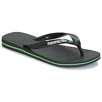 Παπούτσια Σαγιονάρες Havaianas BRAZIL LOGO Black