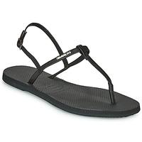 Παπούτσια Γυναίκα Σανδάλια / Πέδιλα Havaianas YOU RIVIERA Black