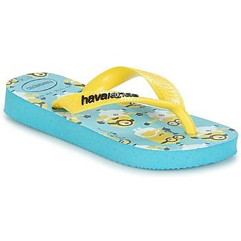 Παπούτσια Αγόρι Σαγιονάρες Havaianas MINIONS Μπλέ / Yellow