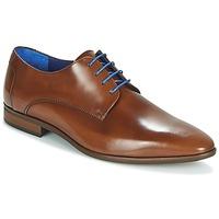 Παπούτσια Άνδρας Derby Azzaro VALMI Cognac