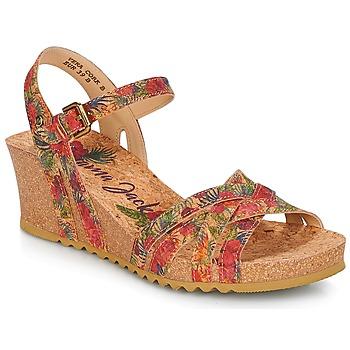 Παπούτσια Γυναίκα Σανδάλια / Πέδιλα Panama Jack VERA Red