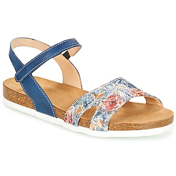 Παπούτσια Γυναίκα Σανδάλια / Πέδιλα Think ZIFUDEKE Μπλέ