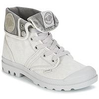 Παπούτσια Γυναίκα Μπότες Palladium US BAGGY Grey / Μεταλικό