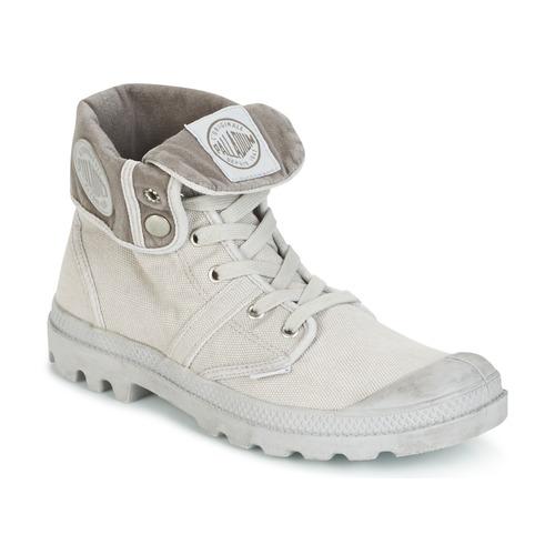 Παπούτσια Άνδρας Μπότες Palladium US BAGGY Μεταλικό