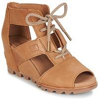 Παπούτσια Γυναίκα Σανδάλια / Πέδιλα Sorel JOANIE™ LACE Brown