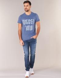 Υφασμάτινα Άνδρας Skinny Τζιν  Diesel TEPPHAR Μπλέ / 0688a