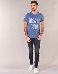Υφασμάτινα Άνδρας Skinny jeans Diesel SLEENKER Μπλέ / 0842q