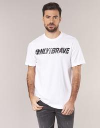 Υφασμάτινα Άνδρας T-shirt με κοντά μανίκια Diesel T JUST SV Άσπρο