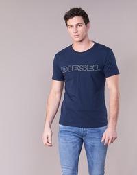 Υφασμάτινα Άνδρας T-shirt με κοντά μανίκια Diesel JAKE Marine