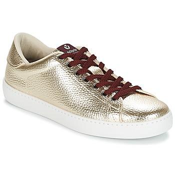 Παπούτσια Γυναίκα Χαμηλά Sneakers Victoria DEPORTIVO METALIZADO Gold