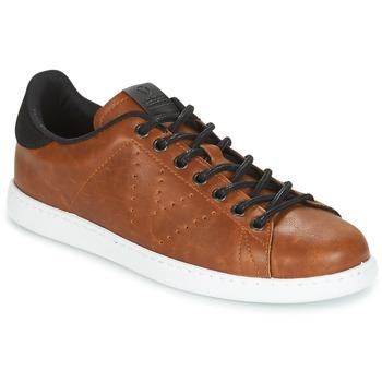 Παπούτσια Άνδρας Χαμηλά Sneakers Victoria DEPORTIVO PU CONTRASTE Brown