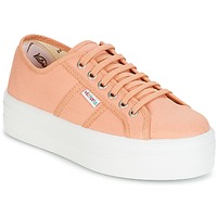 Παπούτσια Γυναίκα Χαμηλά Sneakers Victoria BLUCHER LONA PLATAFORMA Orange