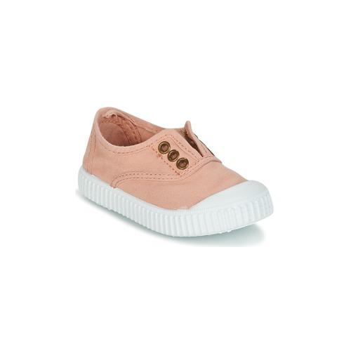 Παπούτσια Κορίτσι Χαμηλά Sneakers Victoria INGLESA LONA TINTADA Ροζ