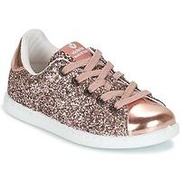 Παπούτσια Κορίτσι Χαμηλά Sneakers Victoria DEPORTIVO GLITTER KID Ροζ