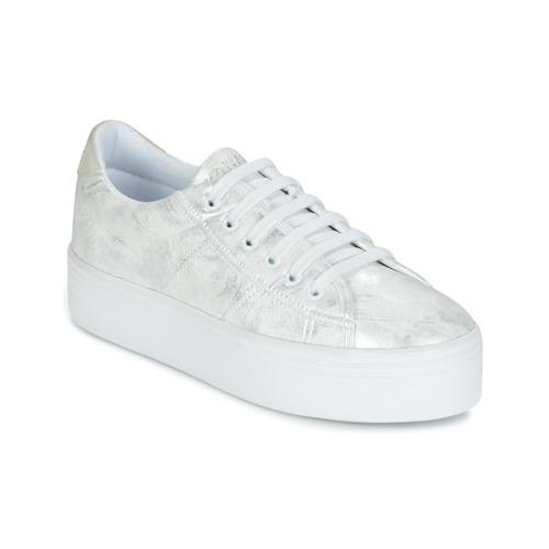 Παπούτσια Γυναίκα Χαμηλά Sneakers No Name PLATO SNEAKER Silver