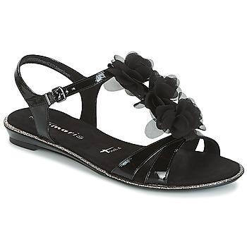 Παπούτσια Γυναίκα Σανδάλια / Πέδιλα Tamaris GACAPI Black