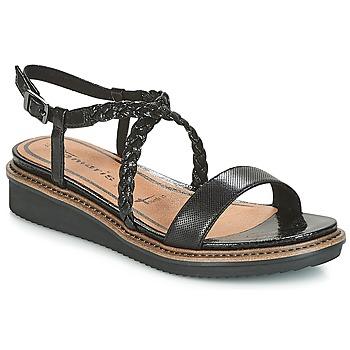Παπούτσια Γυναίκα Σανδάλια / Πέδιλα Tamaris GACAPIN Black