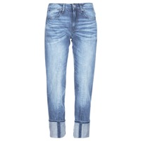 Υφασμάτινα Γυναίκα Jeans 3/4 & 7/8 G-Star Raw LANC 3D HIGH STRAIGHT 11ozsena