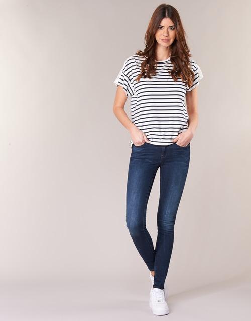 Υφασμάτινα Γυναίκα Skinny jeans G-Star Raw MIDGE ZIP MID SKINNY Neutro