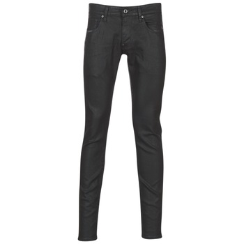 Υφασμάτινα Άνδρας Skinny jeans G-Star Raw REVEND SUPER SLIM Black