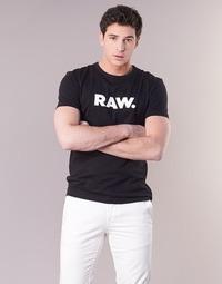 Υφασμάτινα Άνδρας T-shirt με κοντά μανίκια G-Star Raw HOLORN R T S/S Black