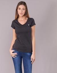 Υφασμάτινα Γυναίκα T-shirt με κοντά μανίκια G-Star Raw EYBEN SLIM V T WMN S/S Black