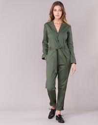 Υφασμάτινα Γυναίκα Ολόσωμες φόρμες / σαλοπέτες G-Star Raw DELINE JUMPSUIT WMN L/S Kaki