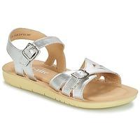 Παπούτσια Κορίτσι Σανδάλια / Πέδιλα Start Rite SR SOFT HARPER Silver