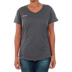 Υφασμάτινα Γυναίκα T-shirt με κοντά μανίκια Izas ADAIA DARK GREY Gris oscuro
