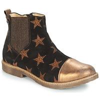 Παπούτσια Κορίτσι Μπότες GBB LEONTINA Black / Bronze