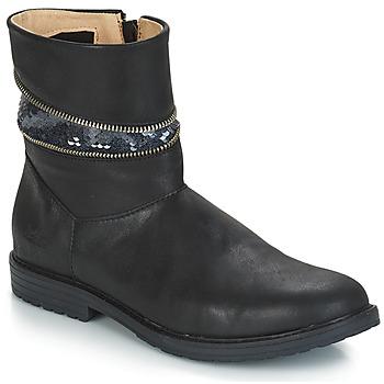 20c1b4b6bc9e Παπούτσια Κορίτσι Μπότες για την πόλη GBB MAFALDA Vts   Black   Dpf   Emma
