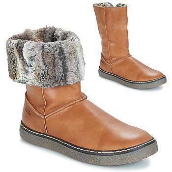 Παπούτσια Κορίτσι Μπότες για την πόλη GBB DUBROVNIK Camel