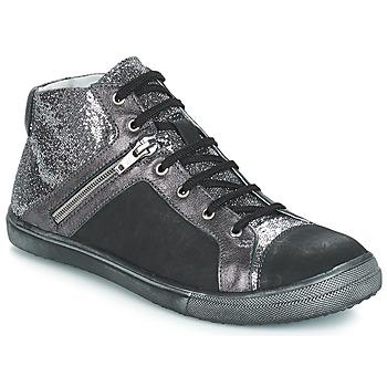 Παπούτσια Κορίτσι Μπότες για την πόλη GBB KAMI Black / Silver