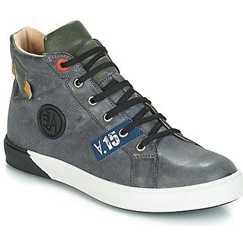 Παπούτσια Αγόρι Μπότες για την πόλη GBB SILVIO Grey