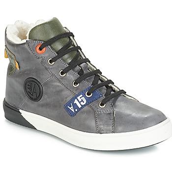 Παπούτσια Αγόρι Μπότες για την πόλη GBB SILVIO Nuv / Πράσινο-γκρι / Dch / Evoque