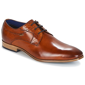 Παπούτσια Άνδρας Derby Bugatti  Cognac