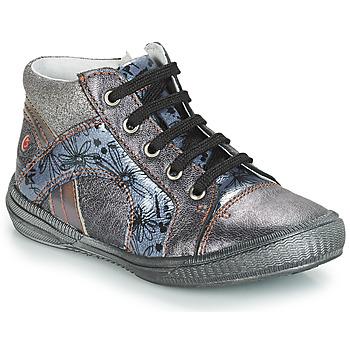 Παπούτσια Κορίτσι Ψηλά Sneakers GBB ROSETTA Grey / Μπλέ