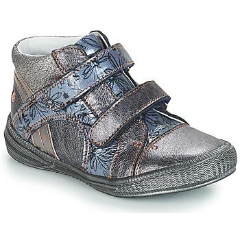 Παπούτσια Κορίτσι Μπότες GBB ROXANE Grey / Μπλέ