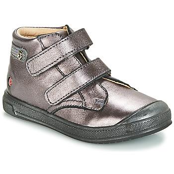 Παπούτσια Κορίτσι Ψηλά Sneakers GBB RACHEL Violet / Μεταλικό