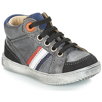 Παπούτσια Αγόρι Ψηλά Sneakers GBB ANGELITO Grey