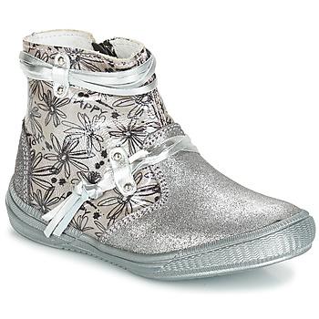 Παπούτσια Κορίτσι Μπότες για την πόλη GBB REVA Vct / Grey / ΑΣΗΜΙ-ΤΥΠΩΜΕΝΟ / Dpf / Sabina