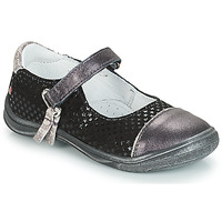 Παπούτσια Κορίτσι Μπαλαρίνες GBB RIKA Grey / Black