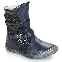 Παπούτσια Κορίτσι Μπότες για την πόλη GBB ROSANA Μπλέ