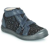 Παπούτσια Κορίτσι Ψηλά Sneakers GBB NADEGE Μπλέ / Black